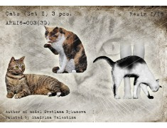 ARM16-003(3D) Cats (set 1)