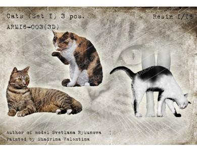 ARM16-003(3D) Cats (set 1)