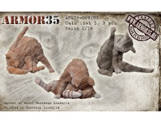 ARM16-009(3D) Cats (Set 5)