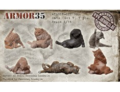 ARM16-011(3D) Cats (Set 7)