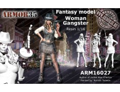 ARM16027 Woman Gangster