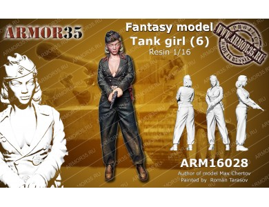 ARM16028 German Tank Girl (6)