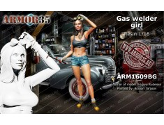 ARM1609BG Gaz welder girl