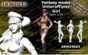 ARM24003 Unteroffizier Girl