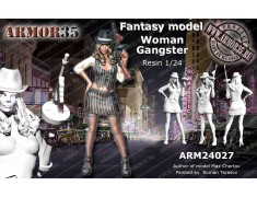 ARM24027 Woman Gangster