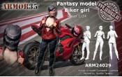 ARM24029 Biker girl