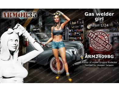 ARM2409BG Gaz welder girl
