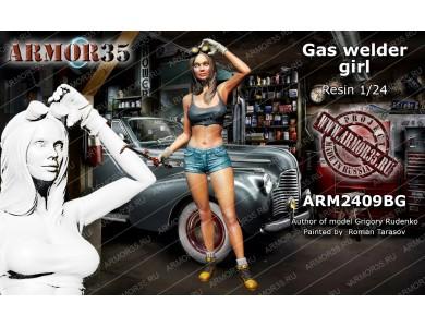 ARM2409BG Gaz welder girl