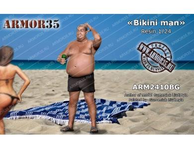 """ARM2410BG """"Bikini man"""""""
