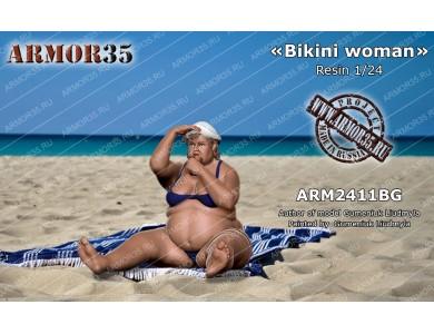 "ARM2411BG ""Bikini woman"""