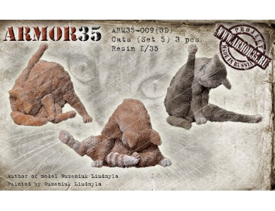ARM35-009(3D) Cats (Set 5)