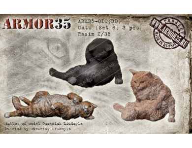 ARM35-010(3D) Cats (Set 6)