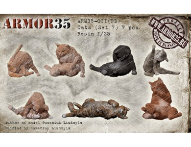 ARM35-011(3D) Cats (Set 7)
