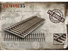 ARM35001 Railway track (1520 mm,12500 mm) Full Kit