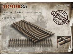 ARM35002К Railway track (1520 mm,12500 mm)- Set of details