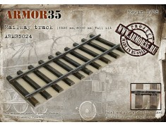 ARM35024 Railway track (1520 mm, 6000 mm) Full Kit