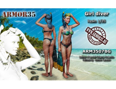 ARM3507BG Girl diver