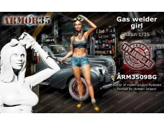 ARM3509BG Gaz welder girl