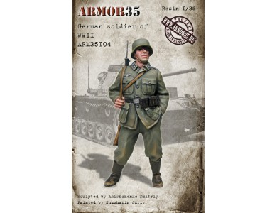 ARM35104 German soldier of WWII