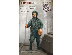 ARM35120 Soviet tankman, officer WWII
