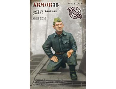 ARM35123 Soviet tankman, WWII