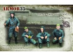 ARM35124 Soviet tank crew, WWII