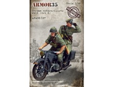 ARM35127 German motorcyclists WWII, (Set I)
