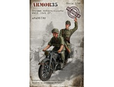 ARM35130 German motorcyclists WWII, (Set IV)