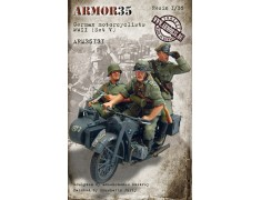ARM35131 German motorcyclists WWII, (Set V)