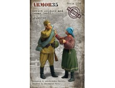 ARM35137 Soviet soldier and woman, WWII