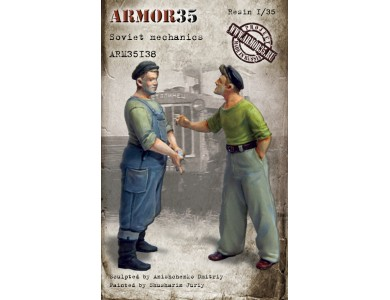 ARM35138 Soviet mechanics