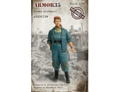 ARM35139 Woman mechanic