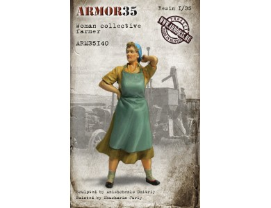 ARM35140 Woman collective farmer