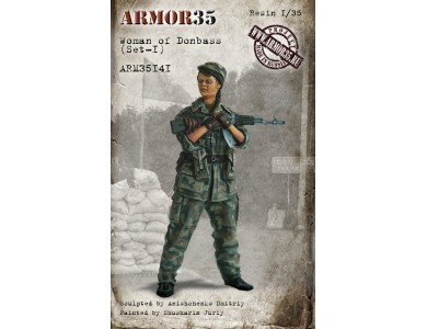 ARM35141 Woman of Donbass (Set-1)