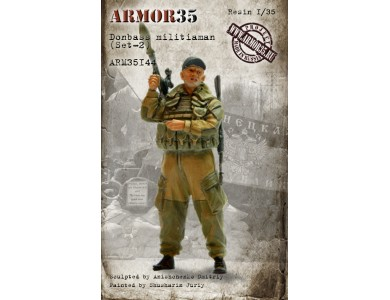 ARM35144 Donbass militiaman (Set-2)