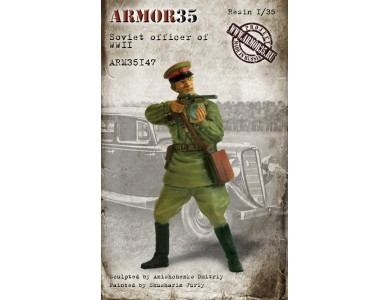 ARM35147 Soviet officer, WWII