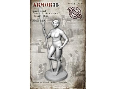 ARM35203 Girl with an Oar (monument)