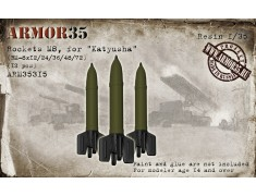 "ARM35315 Rockets M8, for ""Katyusha"" BM-8x12/24/36/48/72 (12 pcs.)"