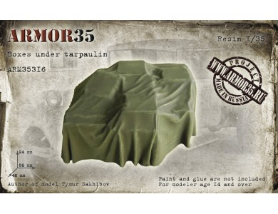 ARM35316 Boxes under tarpaulin (58х48х24 mm.)