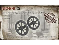 ARM35324 Spoked Wheelset (Wheel diameter 1050mm) - (2 pcs.)
