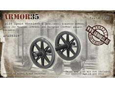 ARM35325 Split Spoke Wheelset (Wheel diameter 1050mm) - (2 pcs.)