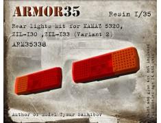 ARM35338 Rear lights kit for KAMAZ-5320, ZIL-130, ZIL-133 (Variant 2)