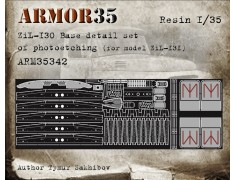 ARM35342 ZIL130 Base detail set of photoething (for model ZIL131)