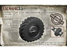 ARM35366 ZiL-131 Flat tire M93 (320x508) new rubber. Version II (1pc.)