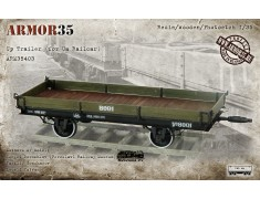 ARM35403 Up Trailer (for Ua Railcar) (1435 mm./1524 mm/)