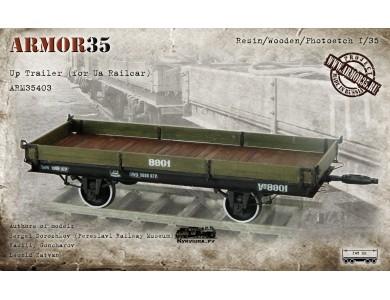 ARM35403 Up Trailer (for Ua Railcar) (1435 mm./1524 mm/)