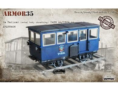 ARM35406 Ua Railcar (metal body sheathing) 1435 mm./1524 mm.