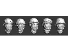 ARM356008 Russian modern heads helmets and balaclavas (Set1)