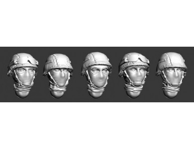 ARM356008 Russian modern heads helmets and balaclavas (Set1)