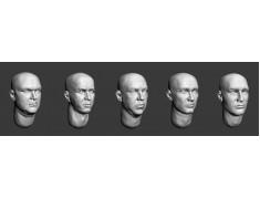 ARM356014 Bald heads (set 3)